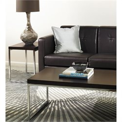Avenue Six Wall Street 2 Piece Coffee and End Table Set in Espresso