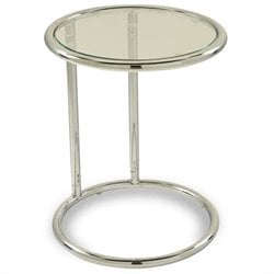 Glass Circle Table