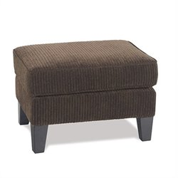 Rectangular Ottoman in Brown