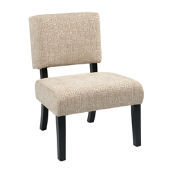 Accent Chair in Maze Oyster
