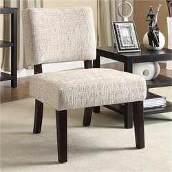 Avenue Six Jasmine Accent Chair in Maze Oyster