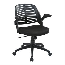 Black Office Chair With Frame in Black