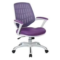 Office Chair in Purple