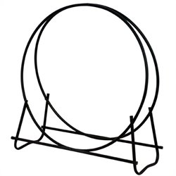 Black 40 Inch Diameter Log Hoop