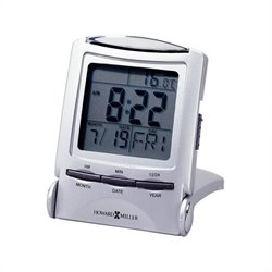 Howard Miller Distant Time Traveler Folding Alarm Clock