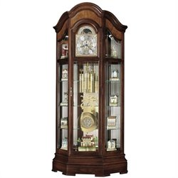 Howard Miller Majestic II Curio Grandfather Clock