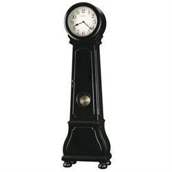 Howard Miller Nashua Grandfather Clock In Black