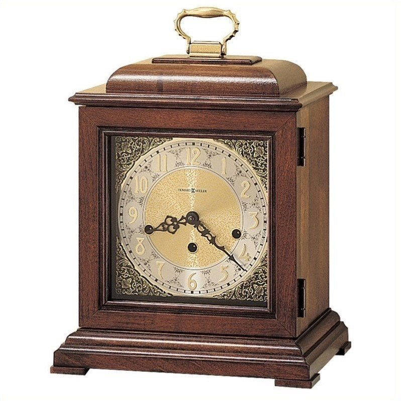 Howard Miller Samuel Watson Key Wound Mantel Clock