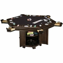 Howard Miller Niagara Hexagon Poker Table