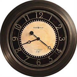 Howard Miller Chadwick Gallery Clock in Antique Brushed Brass