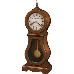 Howard Miller Cleo 84th Anniversary Edition Mantel Clock in Chestnut