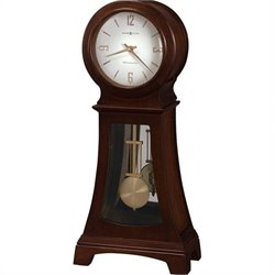 Howard Miller Gerhard 84th Anniversary Edition Mantel Clock in Chocolate