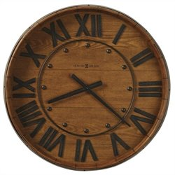 Howard Miller Wine Barrel Gallery Wall Clock Finish