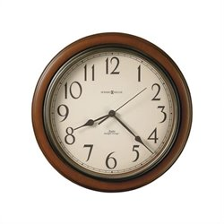 Howard Miller Talon Wall Clock In Brown Cherry Finish