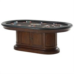 Howard Miller Bonavista Game Table in Rustic Cherry