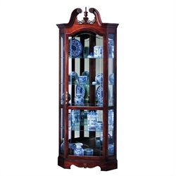 Howard Miller Berkshire Corner Display Curio Cabinet