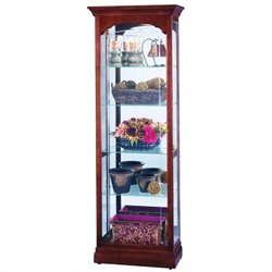 Howard Miller Portland Traditional Display Curio Cabinet