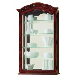 Howard Miller Vancouver Wall Display Curio Cabinet