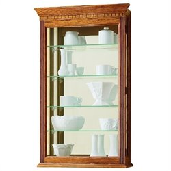 Howard Miller Montreal Wall Display Curio Cabinet