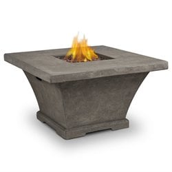 Monaco Propane Fire Table in Glacier Gray