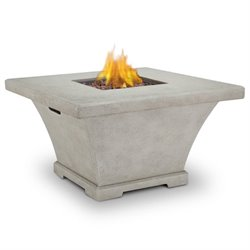 Monaco Propane Fire Table in Cream