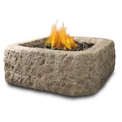 Antique Stone Propane Fire Pit