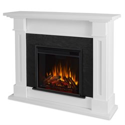 Real Flame Kipling Electric Fireplace White