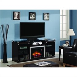 Classic Flame Albright Fireplace in Espresso
