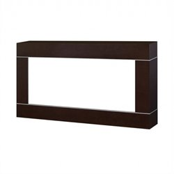 Dimplex Cohesion Wall Mount Surround in Burnished Walnut