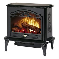 Dimplex Symphony Stoves Celeste Electric Fireplace Stove Heater in Black