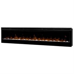 Dimplex Prism Wall Mount Linear Electric Fireplace Insert in Black