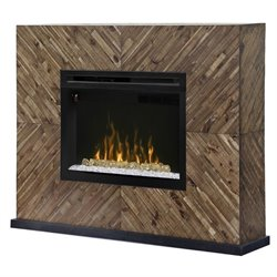 Dimplex Harris Electric Fireplace Mantel in Cassia