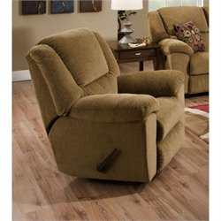 Catnapper Transformer Chaise Swivel Glider Recliner Chair in Beige