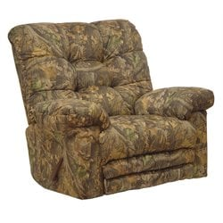 Catnapper Magnum Chaise Rocker Recliner Chair in Infinity
