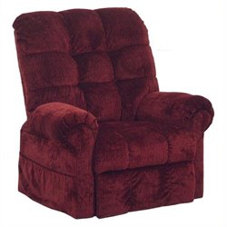 Catnapper Omni Power Lift Full Lay-Out Chaise Recliner Chair in Chianti