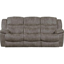 Catnapper Valiant Power Reclining Sofa with Drop Down Table in Marble