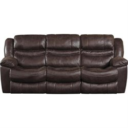 Catnapper Valiant Reclining Sofa in Coffee