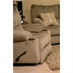 Gavin Recliner in Taupe