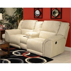Carmine Console Loveseat in Pebble