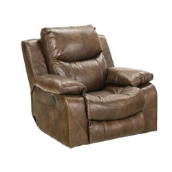 Catalina Recliner in Timber