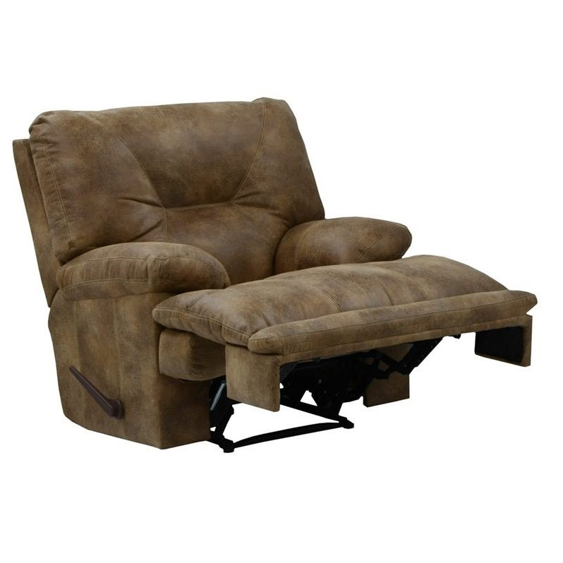 Catnapper Voyager Lay Flat Recliner In Brandy