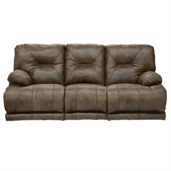 Catnapper Voyager Lay Flat Reclining Sofa in Elk