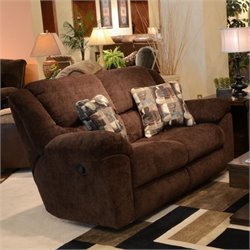 Catnapper Transformer Rocking Reclining Loveseat in Chocolate