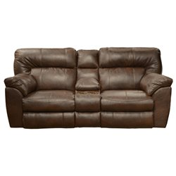 Nolan Loveseat in Chestnut