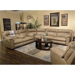 Nolan Sectional in Putty