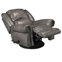 Livingston Recliner in Smoke