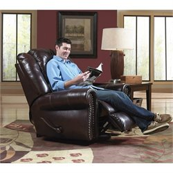 Livingston Recliner in Redwood