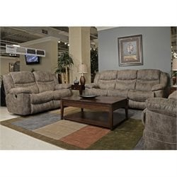 Catnapper Valiant 3 Piece Power Reclining Sofa Set in Marble