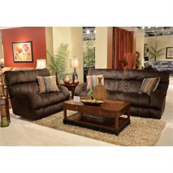 Siesta 2 Piece Sofa Set in Chocolate