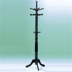 Trent Home Super Deluxe Cherry Standing Coat Rack with Umbrella Rack